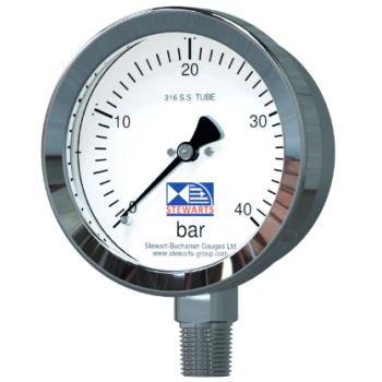 All Stainless Pressure Gauge